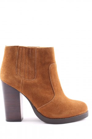 Buffalo London Booties braun Business-Look