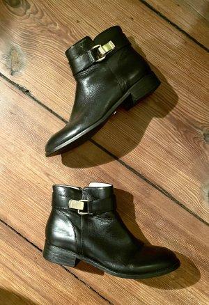 Buffalo London Bottillons noir-doré