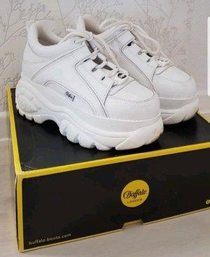 Buffalo London Classics Clogs white Plateu Schuhe