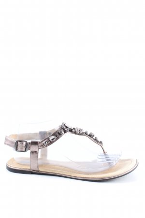 Buffalo London Sandalias Dianette color plata look casual