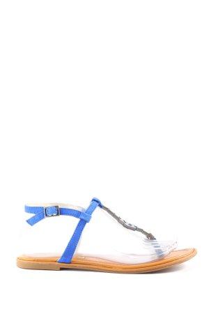 Buffalo London Dianette-Sandalen blau Casual-Look