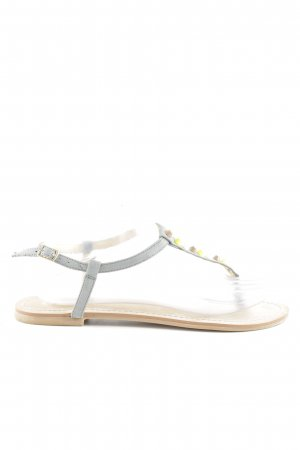 Buffalo London Dianette-Sandalen hellgrau Casual-Look