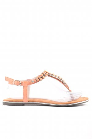 Buffalo London Dianette Sandals light orange casual look