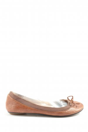 Buffalo London faltbare Ballerinas braun Casual-Look