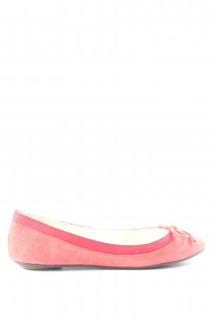 Buffalo London faltbare Ballerinas pink Casual-Look