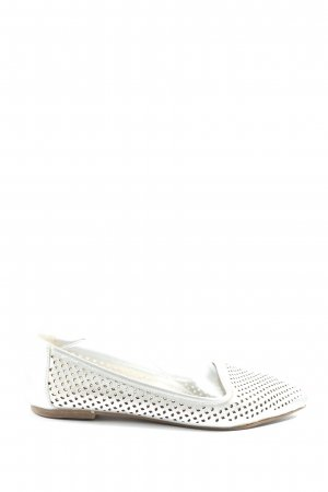 Buffalo London Foldable Ballet Flats silver-colored casual look