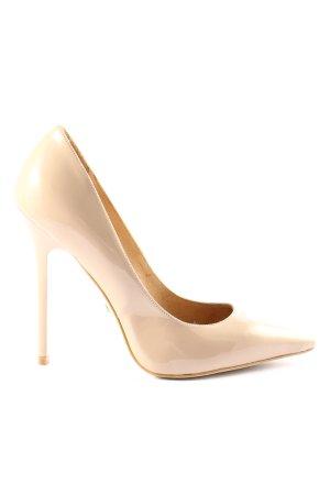 Buffalo London High Heel Sandaletten creme Casual-Look