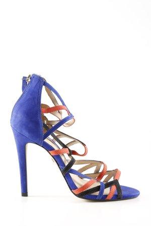 Buffalo London High Heel Sandaletten mehrfarbig Casual-Look