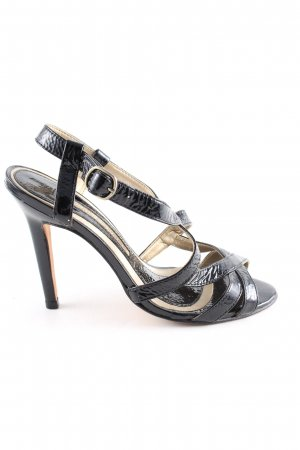 Buffalo London High Heel Sandaletten schwarz Elegant