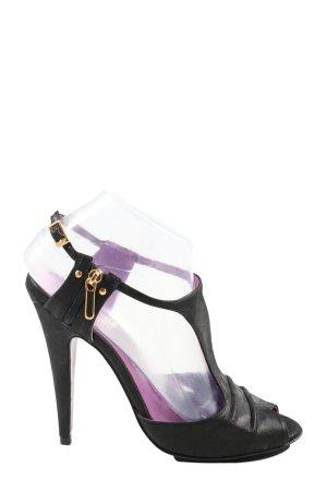 Buffalo London High Heel Sandaletten mehrfarbig Elegant
