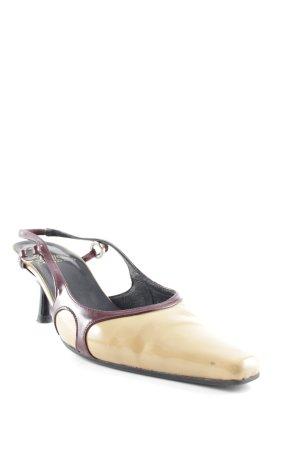 Buffalo London High Heel Sandaletten schwarz-sandbraun Business-Look