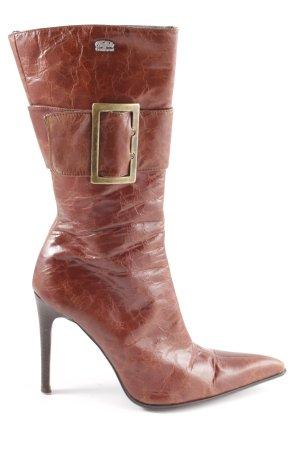 Buffalo London High Heel Stiefel braun extravaganter Stil