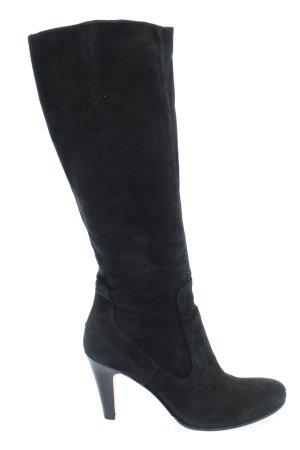 Buffalo London Stivale con tacco alto nero stile casual