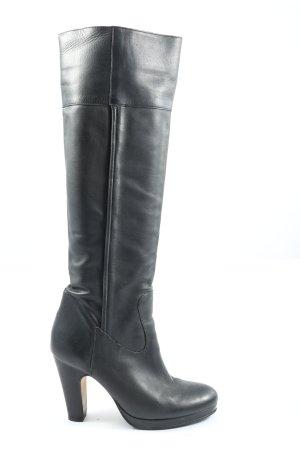 Buffalo London High Heel Stiefel schwarz Casual-Look
