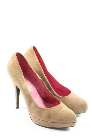 Buffalo London High Heels creme Business-Look