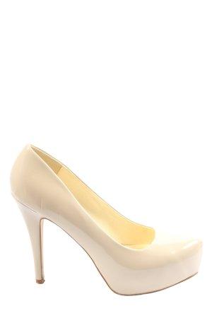 Buffalo London High Heels creme Casual-Look