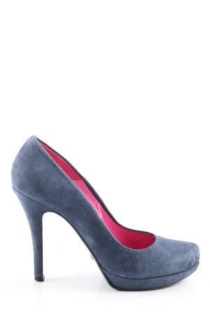 Buffalo London High Heels blau Casual-Look