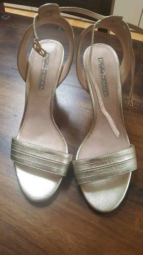 Buffalo London High Heels gold 9cm, Gr.41