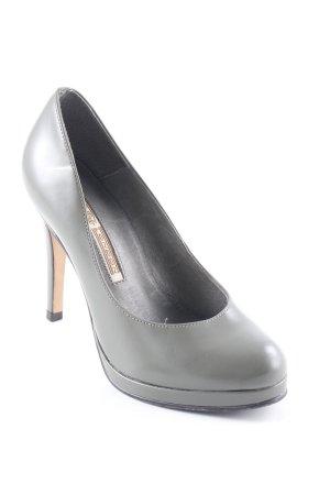 Buffalo London High Heels graugrün Casual-Look