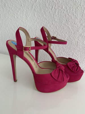 Buffalo London High Heels pink Leder