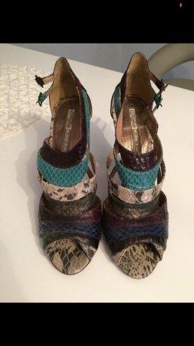 Buffalo London High Heels Sandalen bunt