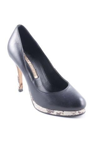 Buffalo London High Heels schwarz Casual-Look