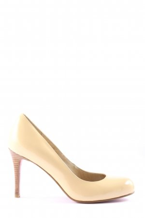 Buffalo London High-Front Pumps cream business style
