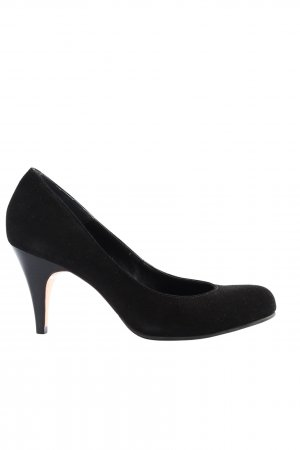 Buffalo London High-Front Pumps black business style