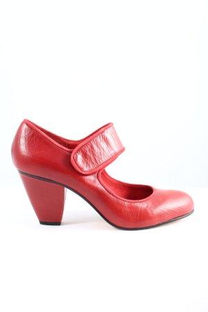 Buffalo London Mary Jane pumps rood elegant