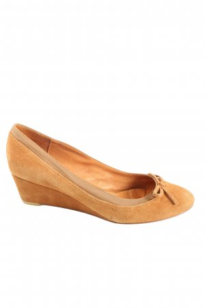 Buffalo London Wedge Pumps light orange casual look