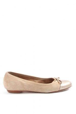 Buffalo London Klassische Ballerinas creme Casual-Look