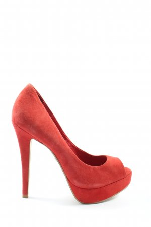 Buffalo London Klassische Pumps rot Elegant