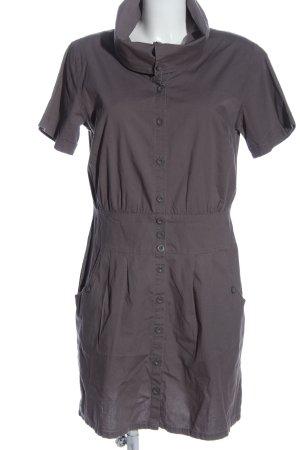 Buffalo London Robe à manches courtes violet style décontracté