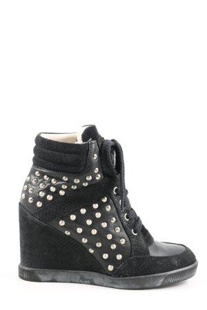 Buffalo London Korte laarzen zwart casual uitstraling