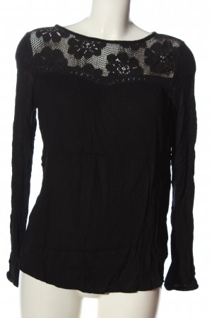Buffalo London Long Sleeve Blouse black casual look