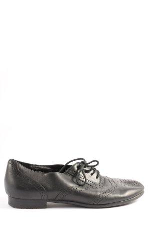 Buffalo London Oxfords zwart zakelijke stijl