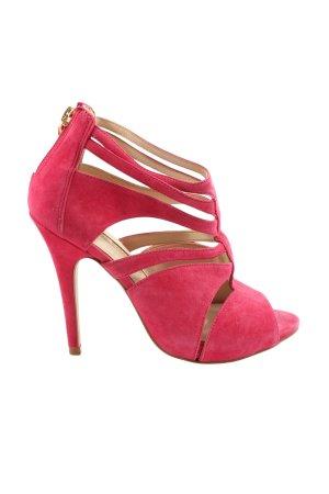 Buffalo London High Heel Sandaletten pink Casual-Look