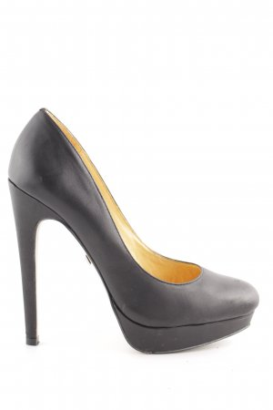 Buffalo London Plateau-Pumps schwarz Business-Look
