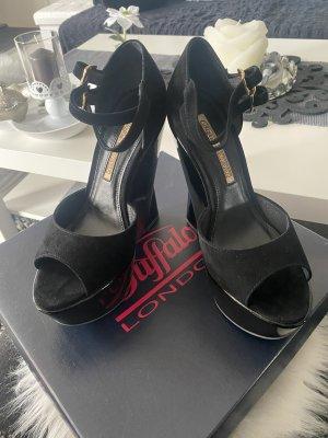 Buffalo London Platform Sandals black