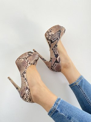Buffalo London Pumps Animal Print *37