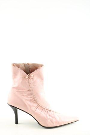 Buffalo London Stivaletto con zip rosa elegante