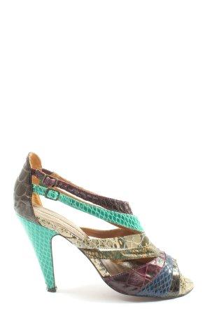 Buffalo London Sandalen met bandjes en hoge hakken veelkleurig elegant