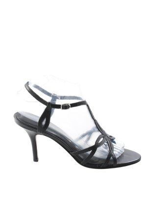 Buffalo London Riemchen-Sandaletten schwarz Elegant
