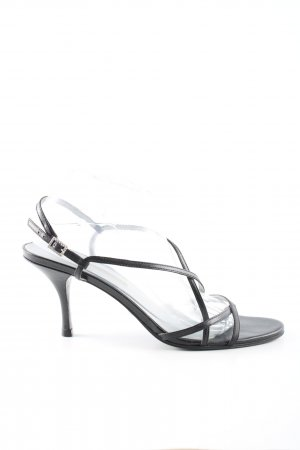 Buffalo London Strapped pumps black casual look