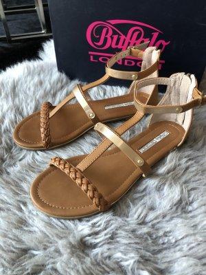Buffalo Roman Sandals light brown