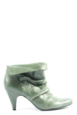 Buffalo London Schlüpf-Stiefeletten grün Casual-Look