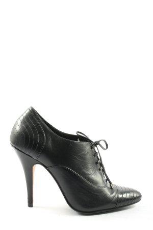 Buffalo London Lace Shoes black business style