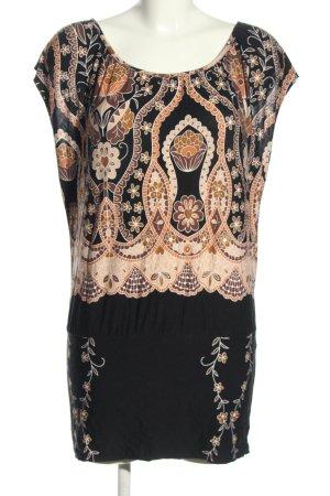 Buffalo London Shirt Tunic mixed pattern casual look