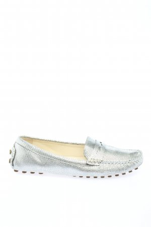 Buffalo London Slippers silver-colored animal pattern casual look