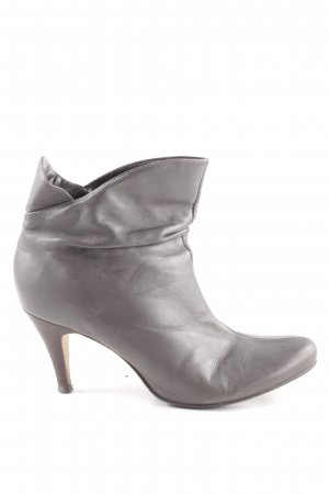 Buffalo London Botines slouch gris claro look casual